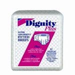 Dignity ® Complete ® Breathable, Adult Fitted Briefs, Diapers 59